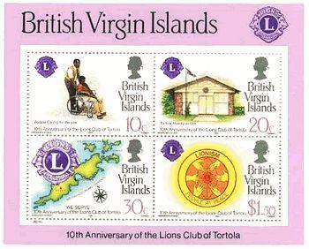 イギリス領・ヴァージン諸島の地図と施設
