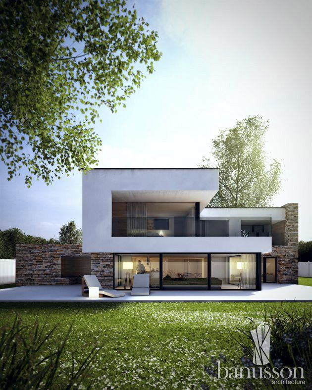 Best Architecture Private Houses Images On Pinterest