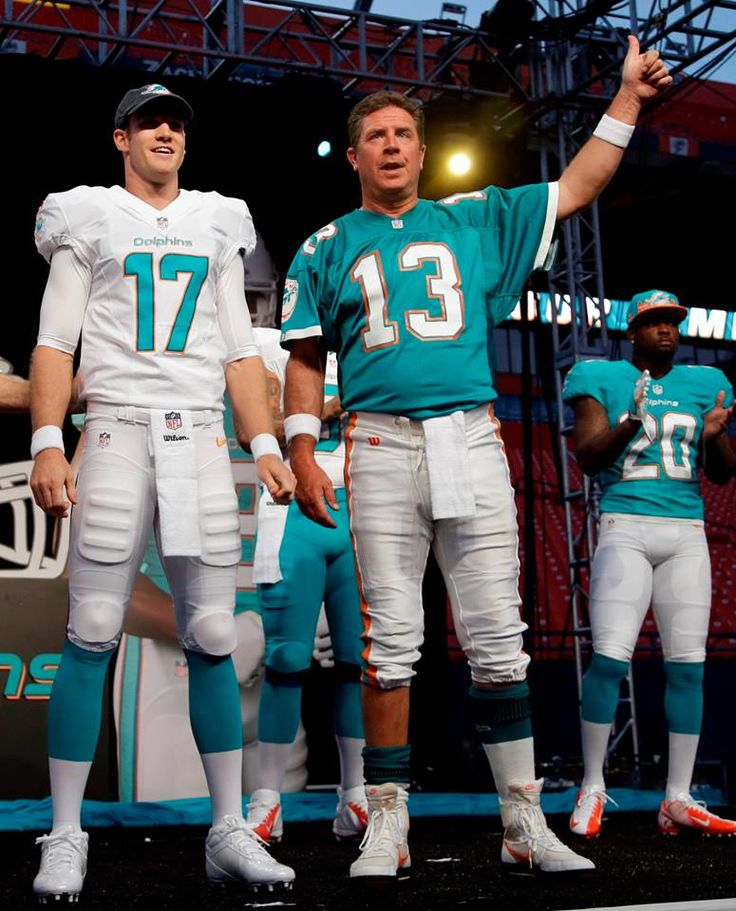 """Dan Marino on Ryan Tannehill: """"I think he has the talent to be a very good quarterback for the Miami Dolphins for many years."""""""