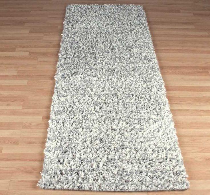 Elsa Grey / Ivory Hall Runner Rugs | Modern Rugs