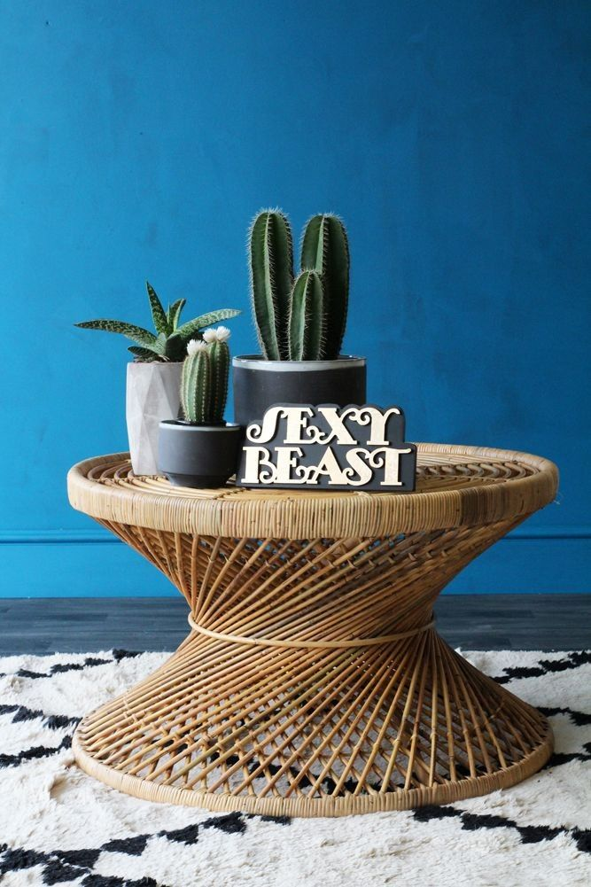 Rattan Coffee Table - View All - Furniture