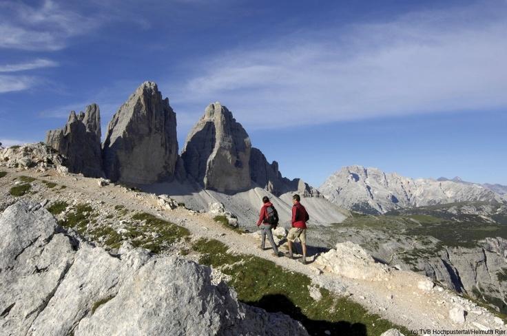 Drei Zinnen Wanderung im Hochpustertal   Camminata alle Tre Cime in Alta Pusteria
