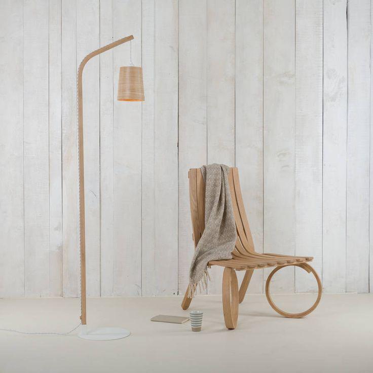 Buy tom raffield mullion light wood floor lamp by tom raffield international delivery on sendit