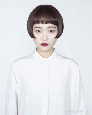 Flapper cut #short #hair #beauty #cut #chahongardor