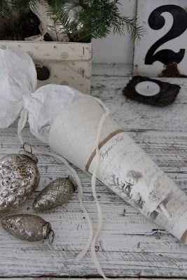 Jeanne d'Arc Livíng Blog - paper cones