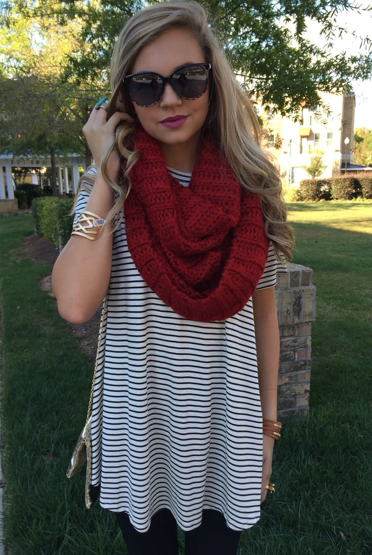 Chunky scarf #swoonboutique