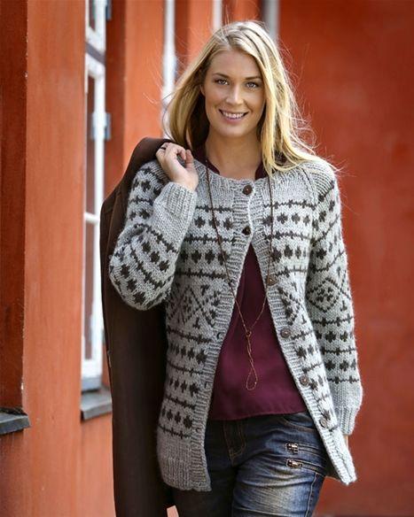 Strik selv: Kraftig trøje - Hendes Verden. http://www.hendesverden.dk/PageFiles/743066/44_2014_Kraftig_troeje.pdf -