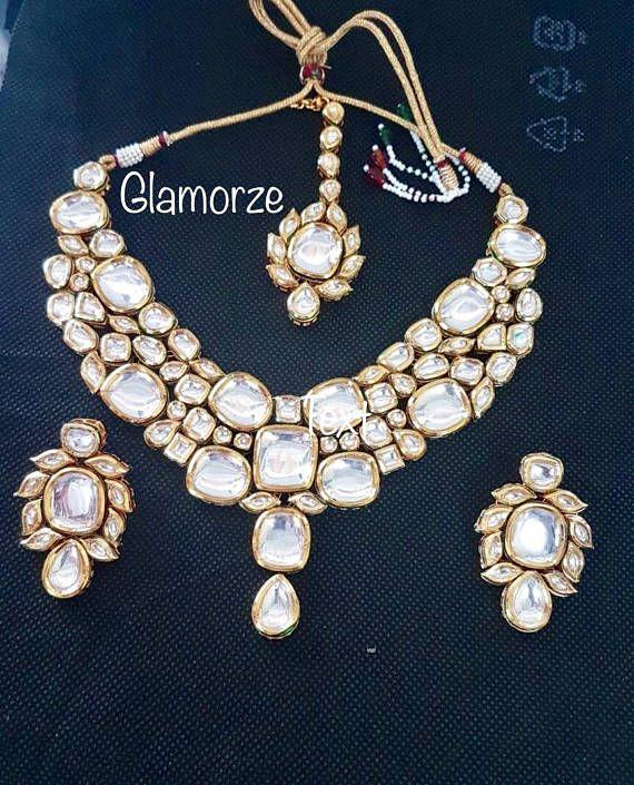 Kundan Jewellery, Indian Jewelry,Pakistani Jewelry Asian Bridal jewelry, Kundan Set, Bollywood Jewelry,