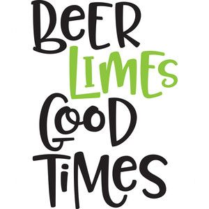 Silhouette Design Store: beer, limes, good times