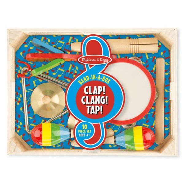 Melissa & Doug Band in a Box - Clap Clang Tap