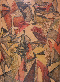 Maria Jarema - Wyrazy, 1954-57 http://culture.pl/pl/artykul/polska-sztuka-miedzy-totalitaryzmem-a-demokracja