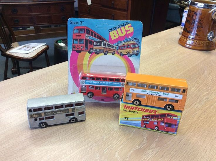 Matchbox Superfast & Tin's Toys Bus Job Lot Of Three - The Londoner & Jubilee | eBay