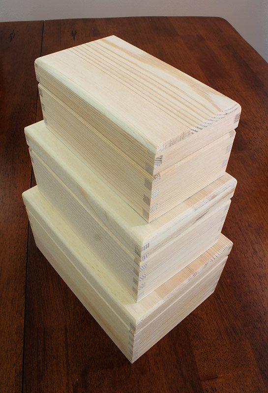Unfinished Wood Box