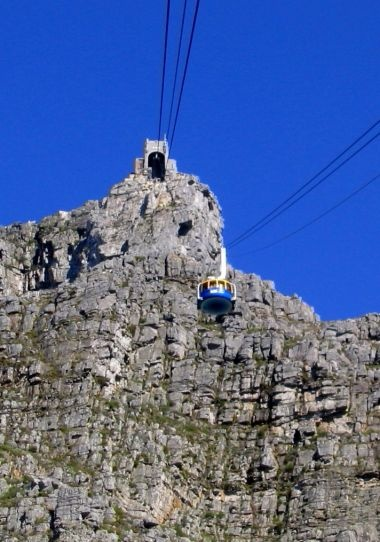 ...one of the new 7 wonders of Nature.   Table Mountain