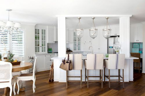 Coastal Style Decorating Ideas 08 Of 23 - White Kitchen Design