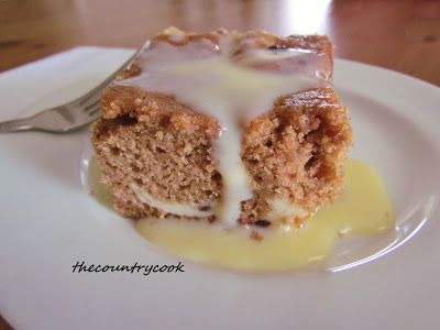 Cream Cheese Spice Cake....The Country Cook: 36 Favorite Cake Mix Recipes