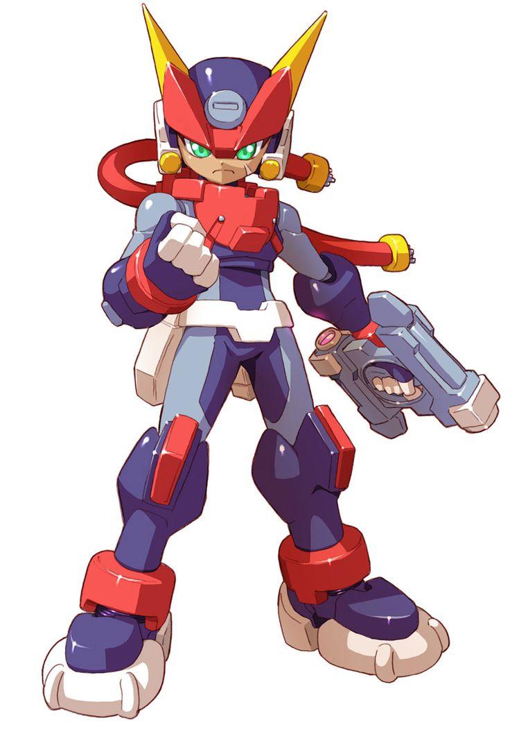 Grey - Biometal Model A - Characters & Art - Mega Man ZX Advent