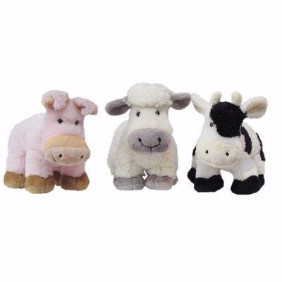 Cow farmland plush toy