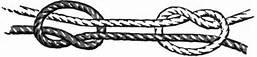 68 – La cuerda, supone la necesidad de enredar dos o mas elementos. Relativamente elásticos, la soga es también la forma elemental de unir fibras mediante la torsión y es el punto de partida de la tecnología textil.