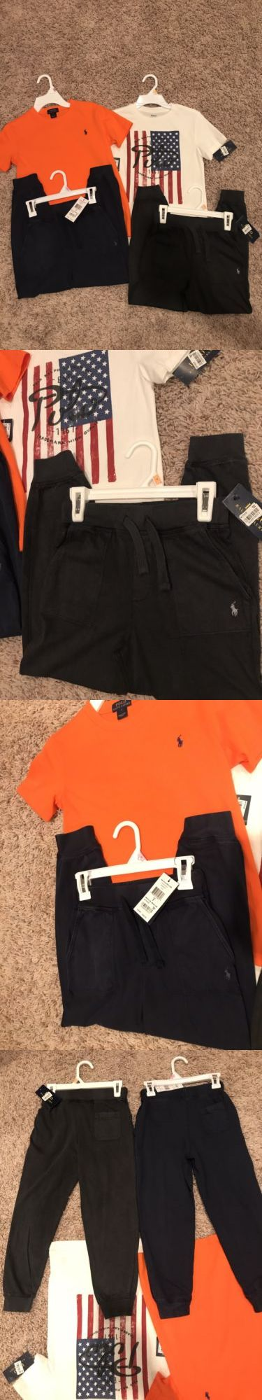 Mixed Items and Lots 15620: Nwt Boys Ralph Lauren Polo Sweatpants And Shirt Lot Size 7 Two Outfits! Nice!! -> BUY IT NOW ONLY: $75 on eBay!