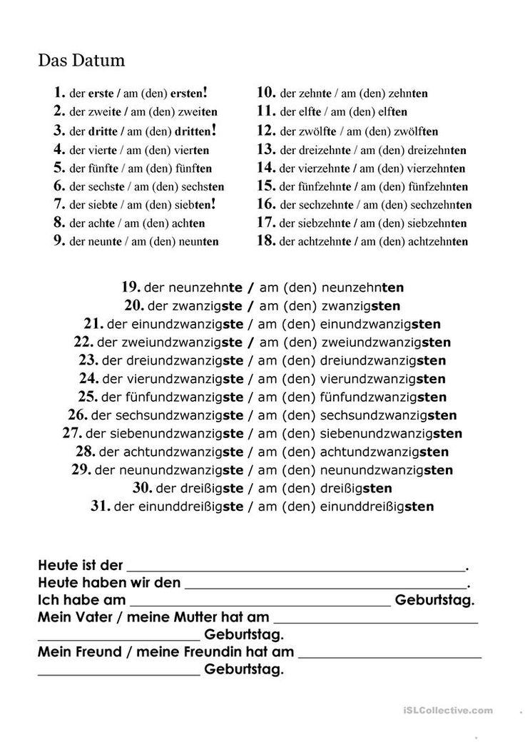 39 best DaF images on Pinterest | German language, Language and ...