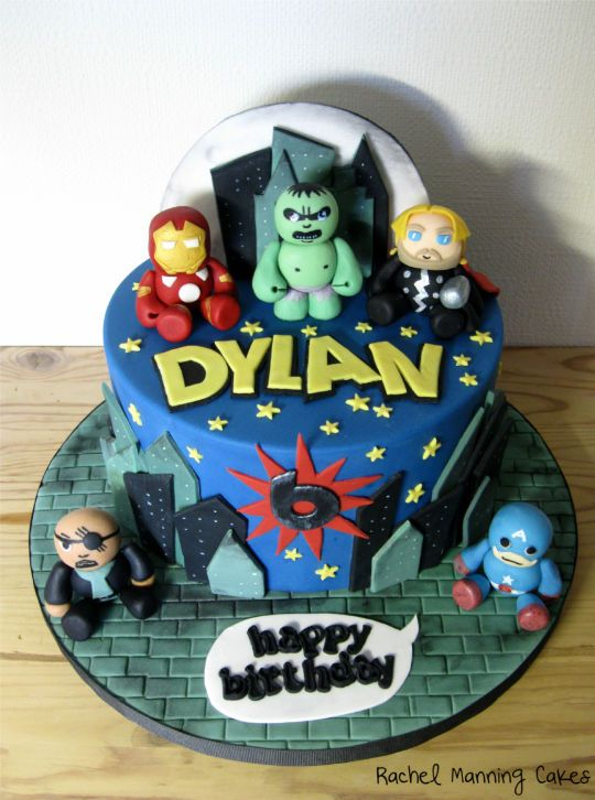 Cake Decorating Ideas Avengers : avengers falcon cake - Google Search Cake Decorating - Characters for Boys Pinterest Cake ...