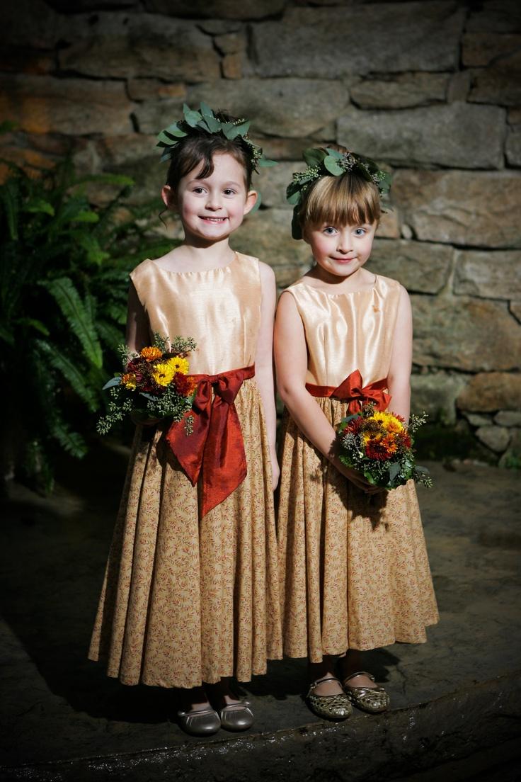 Fall Flower Girl Dresses Wedding Pinterest
