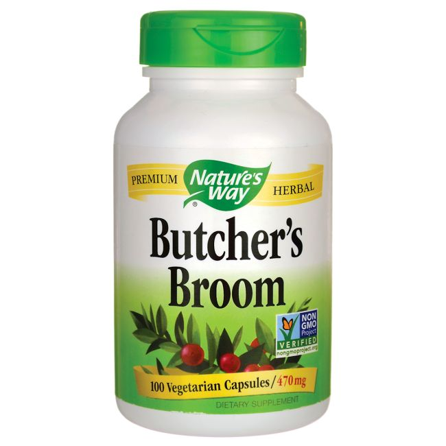 Butchers Broom, 470 mg 100 Veg Caps AED150.00 #UAESupplements