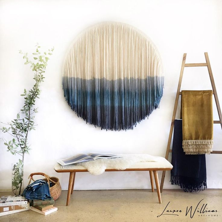 Lauren Williams Art Home Modern Bohemian Fiber Art Wall Art