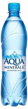 Вода Aqua Minerale, без газа, 0.6 л  — 60р. --------------------