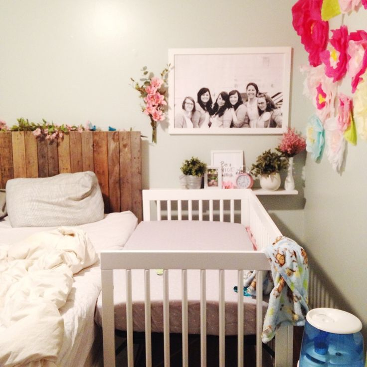 The Clueless Girl S Guide Sidecar Crib Baby Room
