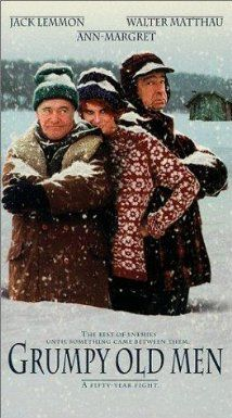 Grumpy Old Men (1993) Two childhood friends who irritate each other to no end but the friendship is much deeper than some of their shenanigans appear.  Lemmon and Matthau do it again!  P.S. - watch through the credits!