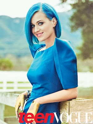 Katy Perry Hot Teen Vogue Scans  6 Pics