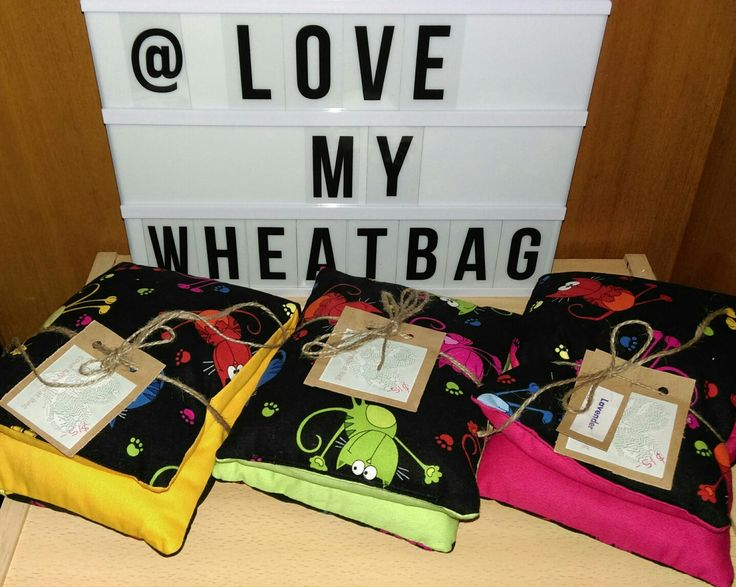 Love My Wheat Bag. Find me on Facebook