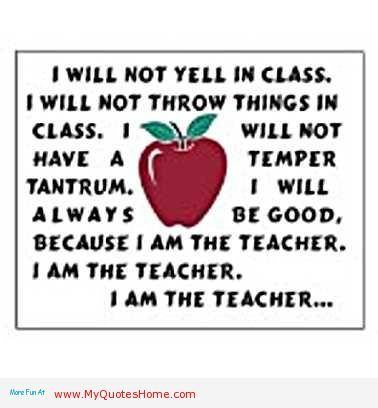 funny teacher day school quotes - what is teacher see it and read it
