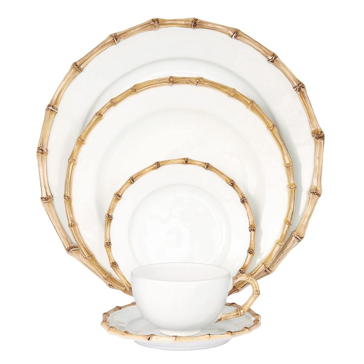 Juliska Classic Bamboo Dinnerware - Dining & Entertaining - Home - Bloomingdale's