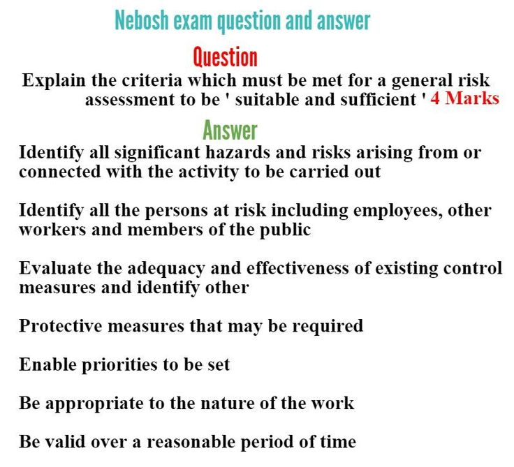 nebosh igc questions and answers Questions and answers for nebosh course  download nebosh igc study  material pdf | download nebosh diploma books pdf | download nebosh.