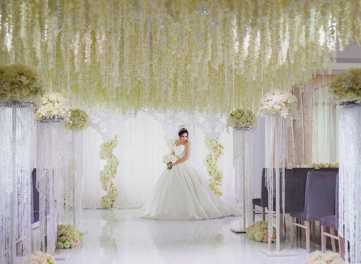 #wedding ,#bride, #ceremony, #wistaria , #floral, #event
