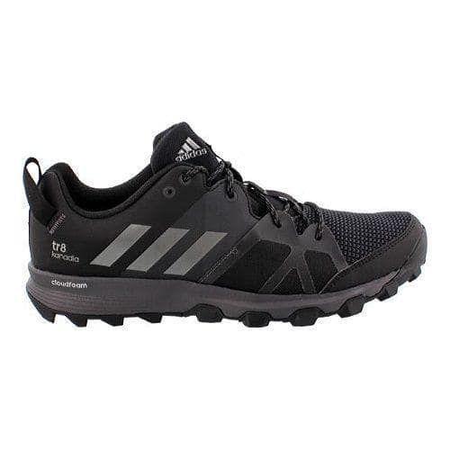 297e8fb82f8ec Men s adidas Kanadia 8 Trail Running Shoe Black Iron Metallic Utility Black   trailrunningshoes