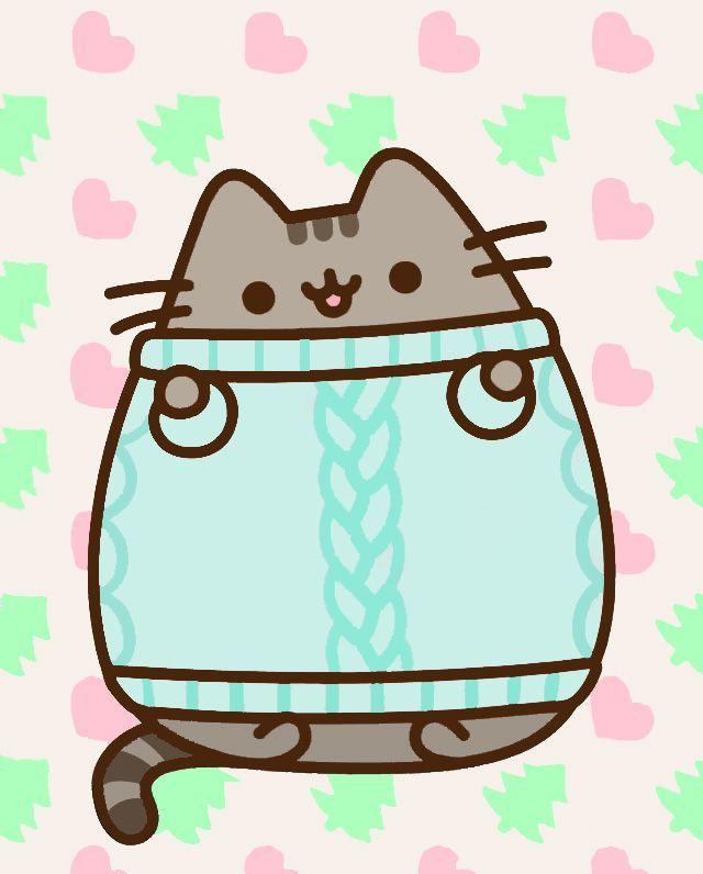 рисунки няшных котиков периоды