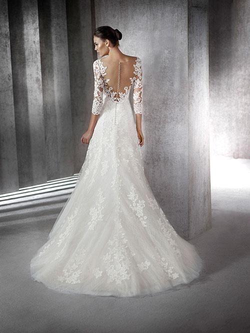 17 best ideas Pronovias images on Pinterest | Wedding frocks ...