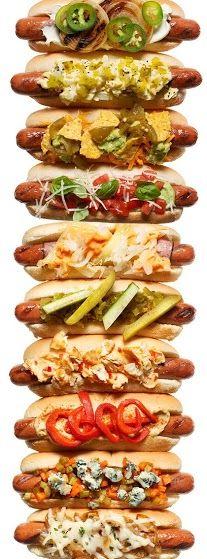 International Hot Dog Style