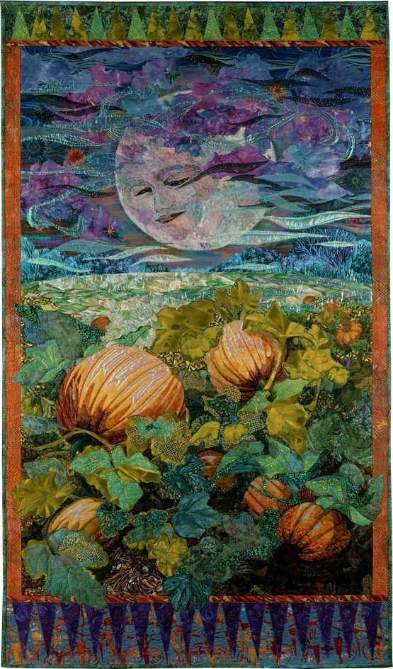Pumpkin Moon by Susan Carlson.  @Deborah Daniel Thought you would appreciate this!