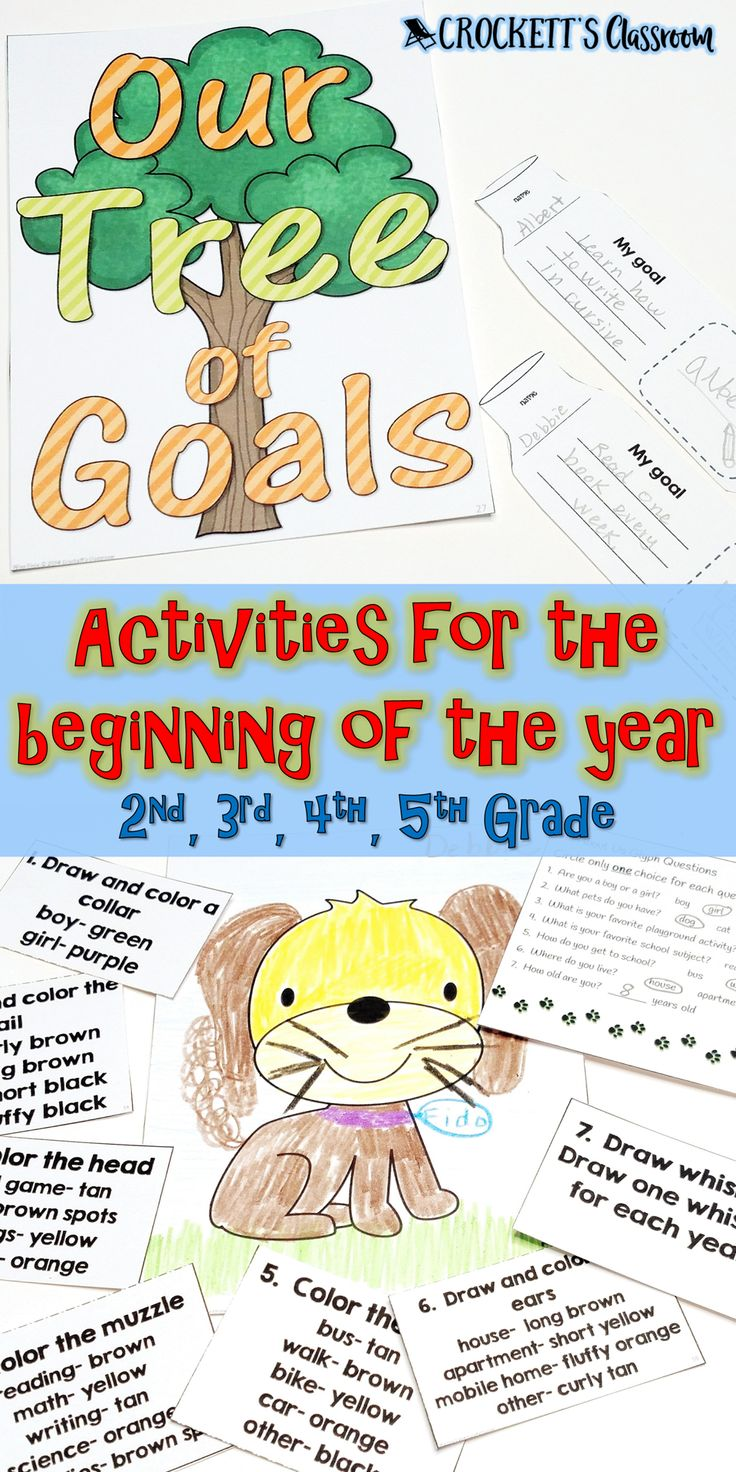 Because of Winn Dixie you can have the best year ever!  These beginning of year activities will help you establish expectations, get to know your students and set goals.
