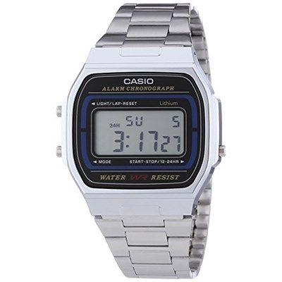 Si eres de los que les gusta un reloj básico y te gusta es estilo de los relojes Casio de los 80, este reloj unisex de Casio te viene como anillo al dedo. Tiene un 66% de descuento y tan sólo cuesta 13,50€. En El Corte Inglés está a 30€.  Chollo en Amazon: Reloj digital Casio A164WA-1VES por solo 13,50€ (un 66% de descuento sobre el precio de venta recomendado y precio mínimo histórico)