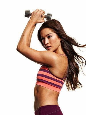 9 exercises for strong, sculpted arms. Perfect for summer!