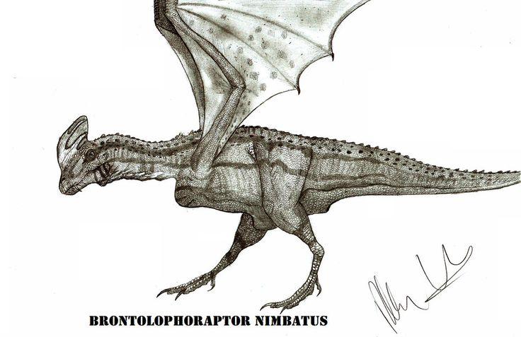 Brontolophoraptor nimbatus by Teratophoneus.deviantart.com on @DeviantArt