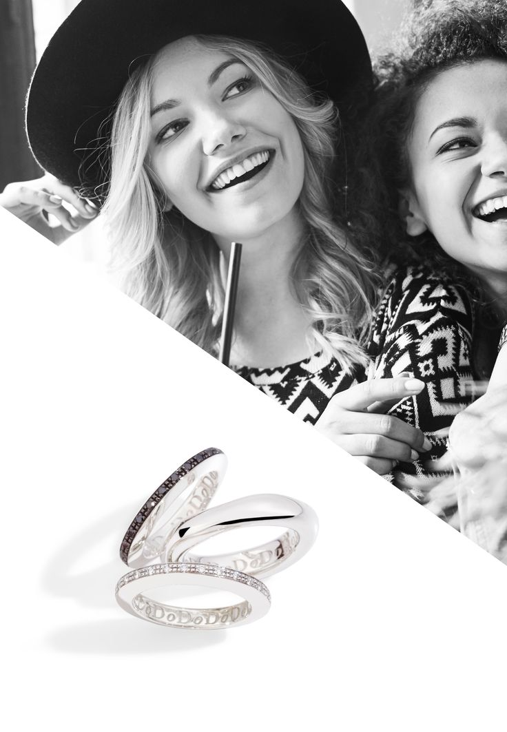 Complete your perfect smile with Dodo rings. Mix & match Irregular and Disc rings and create your perfect combination.