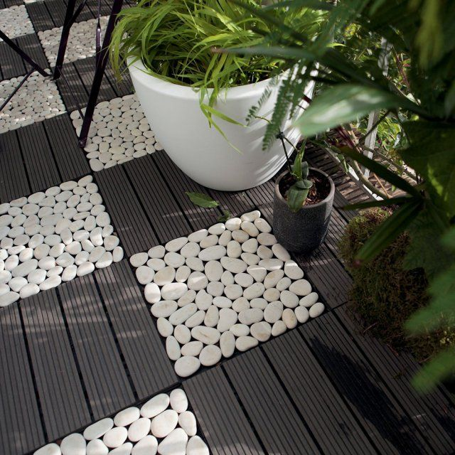 25 best ideas about terrasse composite on pinterest - Dalle clipsable leroy merlin ...
