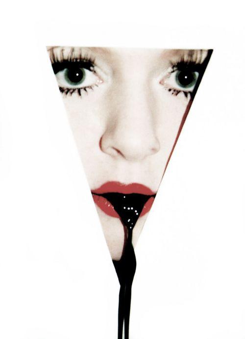 weirdly awesomeStrange Inspiration, Lips Strange, Beautiful, Pretty Things, Blog, Photography Art Painting, Editorial Ideas, Black, The Dark